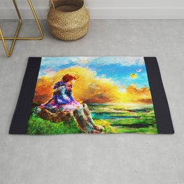 Nausicaa of the Valley of the Wind Rug