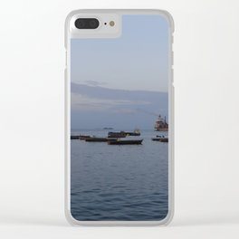 Stone Town Clear iPhone Case