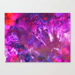 α Peacock Canvas Print
