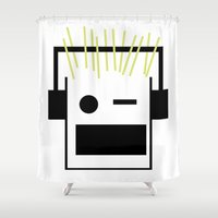 blondie Shower Curtains featuring Blondie by GPM Arts