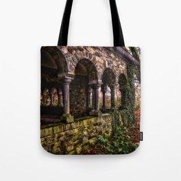 Abandoned Monastery Tote Bag