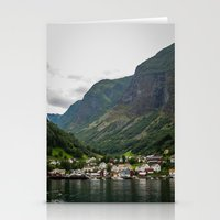 norway Stationery Cards featuring Norway by Michelle McConnell