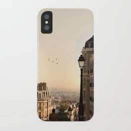 montmartre mornings iPhone Case