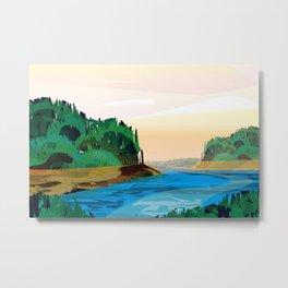 Angel Island Metal Print
