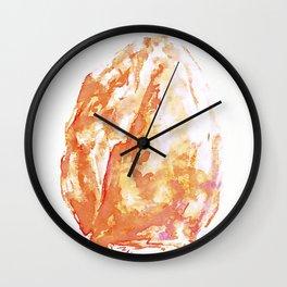 Himalayan Salt Crystal Painting Wall Clock