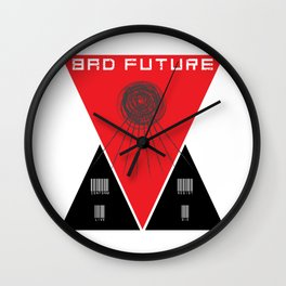 Bad Future Wall Clock
