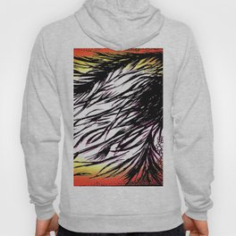 Fire spirit in the wind- Hoody