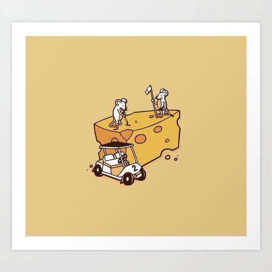Par Cheesy Art Print