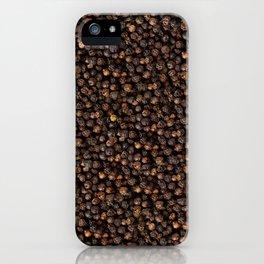 Black Pepper iPhone Case