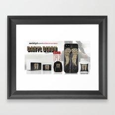 Daryl Dixon Team. ‹(-- Framed Art Print