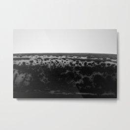 Bruised Metal Print