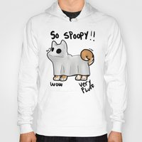 doge Hoodies featuring So doge by Santi