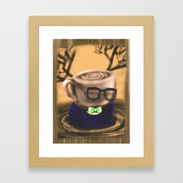 Coffee Bloke Tea Party Framed Art Print