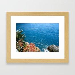 Cinque Terra, Italy Framed Art Print