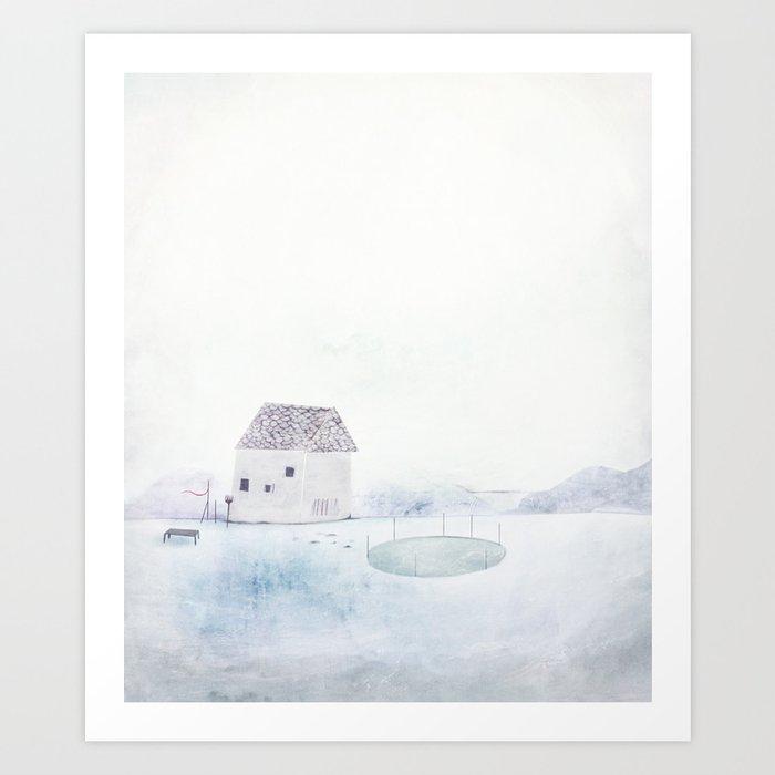 Milk House Art Print