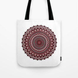 Enticing red Tote Bag