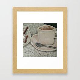 Beignets & Cafe Au Lait Framed Art Print