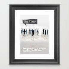 The Vicar Framed Art Print