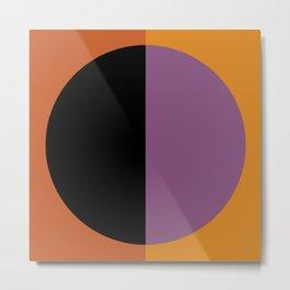 Color Block Abstract I Metal Print
