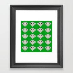 Basic Sheep - 3 Framed Art Print