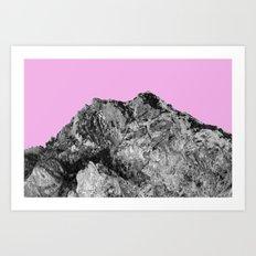 Mountain Rose Art Print