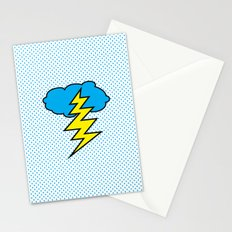 Shower Curtain Pop Comic Stationery Cards