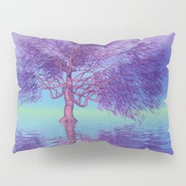 fancy tree and strange light -3- Pillow Sham