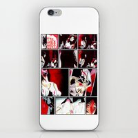 gore iPhone & iPod Skins featuring The Gore Gore Girls by Zombie Rust