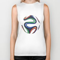world cup Biker Tanks featuring World Cup 2014 by LCPCS