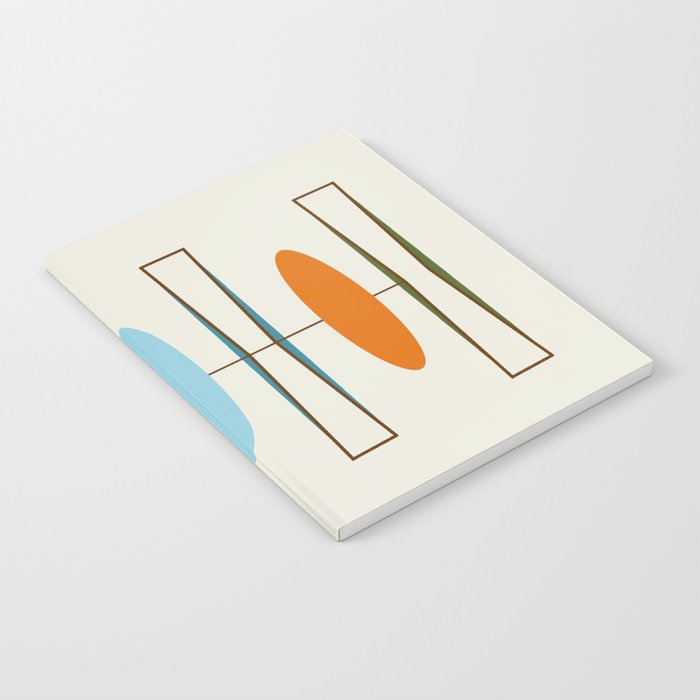 Mid-Century Modern Art 1.2 Notebook