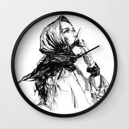 The Medicine. ©Yury Fadeev Wall Clock