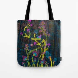 Magic mushrooms Tote Bag