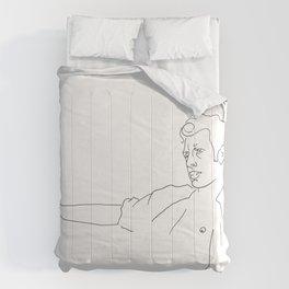 Jeff Goldblum Comforters