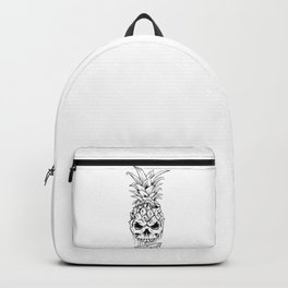 Skull Pineapple Fruit Backpack