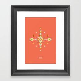 Aztek Framed Art Print