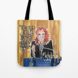 Michelle Wolf Tote Bag