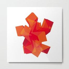color blox Metal Print