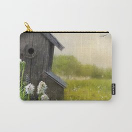 Little Bits Of Good - Vintage Art Carry-All Pouch