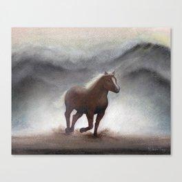 Running Horse Canvas Print
