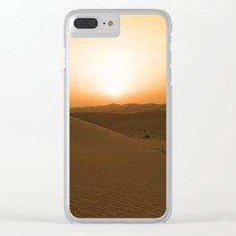 Abu Dhabi Clear iPhone Case