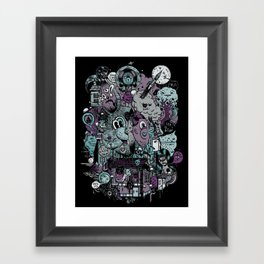 Supernature In The City Of Poison Syrup And Hope Candy Framed Art Print