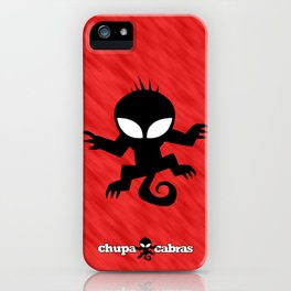 CHUPACABRAS - Red Edition iPhone Case