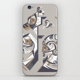 Coffee with milk iPhone Skin