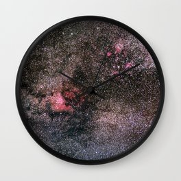 North America Nebula, the center of the Milky Way. Cysnus Constelation Wall Clock