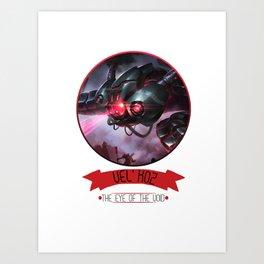 League Of Legends - Vel'Koz Art Print