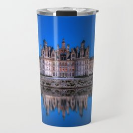 The castle of Chambord at night Travel Mug