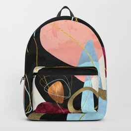 Abstract Pebbles II Backpack