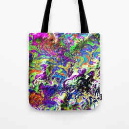 Poor Rainbow Exploded Tote Bag