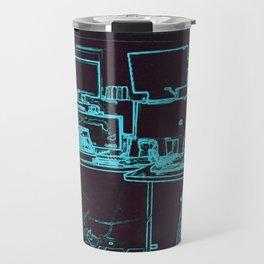 9-1-1 blue Travel Mug