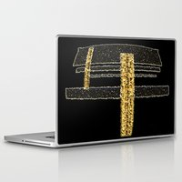 metal Laptop & iPad Skins featuring Metal by Maria Julia Bastias